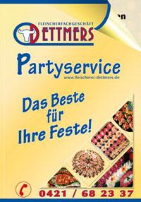 Partyservice-Preisliste